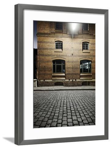Kontor-House Architecture, Alter Wandrahm, Hamburg-Mitte-Axel Schmies-Framed Art Print