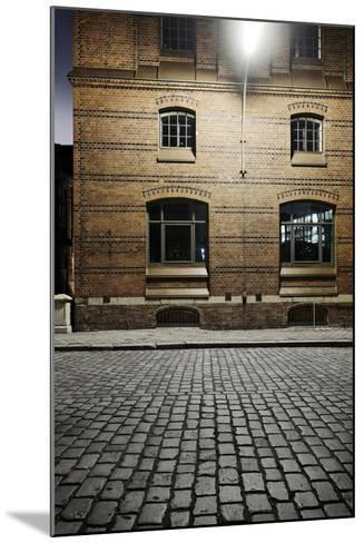 Kontor-House Architecture, Alter Wandrahm, Hamburg-Mitte-Axel Schmies-Mounted Photographic Print