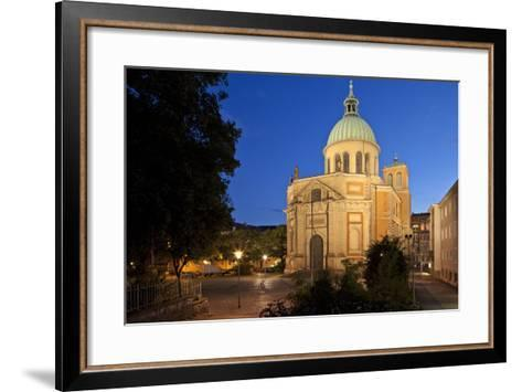 Germany, Lower Saxony, Hannover, Provost's Church St. Clemens-Chris Seba-Framed Art Print