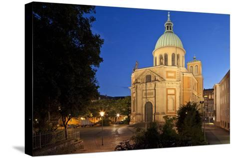 Germany, Lower Saxony, Hannover, Provost's Church St. Clemens-Chris Seba-Stretched Canvas Print