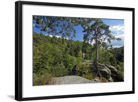 Europe, Eastern Germany, Saxony, Saxon Switzerland-Chris Seba-Framed Art Print