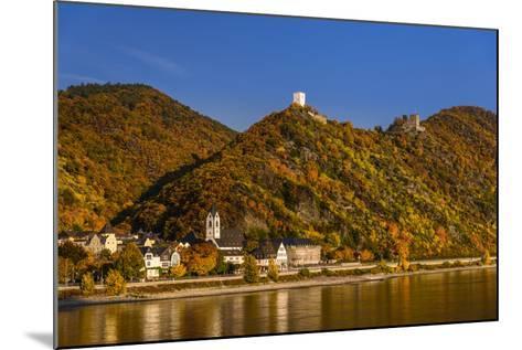 Germany, Rhineland-Palatinate, Upper Middle Rhine Valley, Kamp-Bornhofen, Townscape-Udo Siebig-Mounted Photographic Print