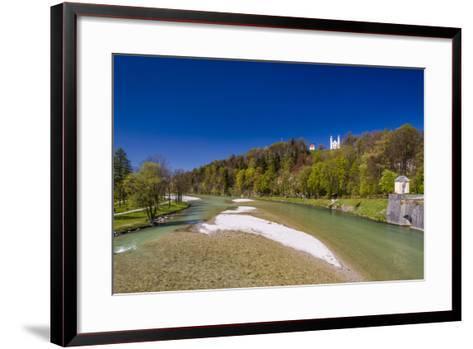 Germany, Bavaria, Upper Bavaria, T?lzer Land (Area), Bad T?lz-Udo Siebig-Framed Art Print