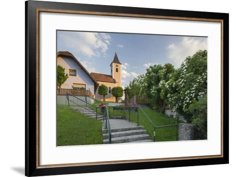 Church in Siegenfeld, Lower Austria, Austria-Rainer Mirau-Framed Art Print