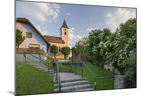 Church in Siegenfeld, Lower Austria, Austria-Rainer Mirau-Mounted Photographic Print