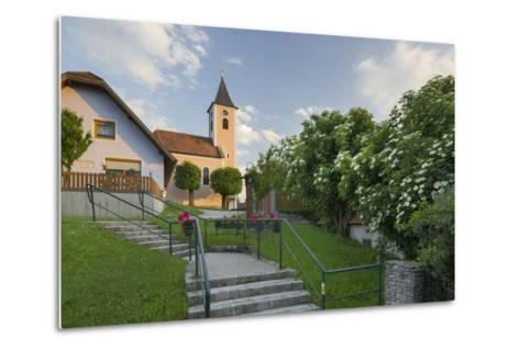 Church in Siegenfeld, Lower Austria, Austria-Rainer Mirau-Metal Print