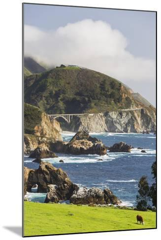 Rocky Point, Big Sur, Cabrillo Highway 1, California, Usa-Rainer Mirau-Mounted Photographic Print