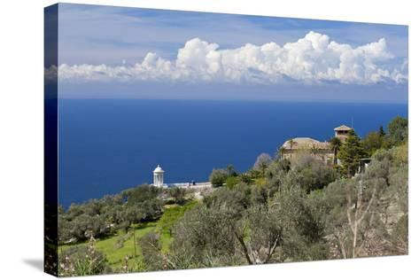 Spanish Balearic Islands, Island Majorca, West Coast, Son Marroig-Chris Seba-Stretched Canvas Print