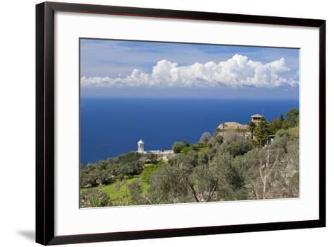 Spanish Balearic Islands, Island Majorca, West Coast, Son Marroig-Chris Seba-Framed Art Print
