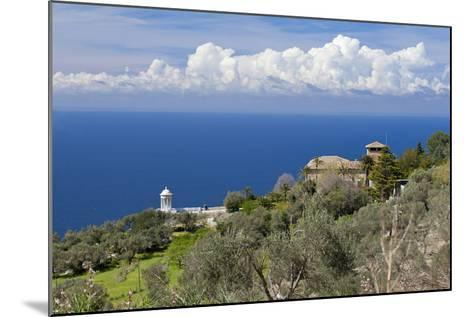 Spanish Balearic Islands, Island Majorca, West Coast, Son Marroig-Chris Seba-Mounted Photographic Print