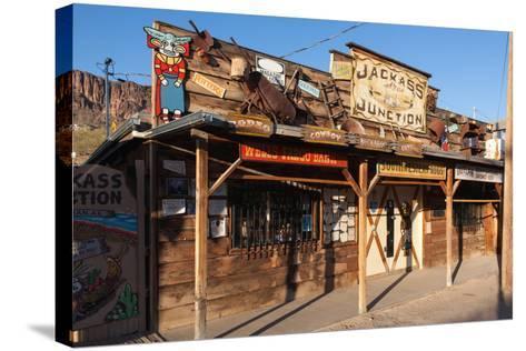 USA, Arizona, Route 66, Oatman-Catharina Lux-Stretched Canvas Print