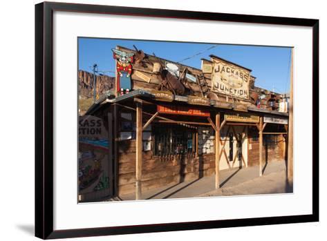 USA, Arizona, Route 66, Oatman-Catharina Lux-Framed Art Print
