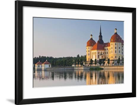 Germany, Dresden, Castle Moritz-Rainer Mirau-Framed Art Print