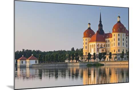 Germany, Dresden, Castle Moritz-Rainer Mirau-Mounted Photographic Print