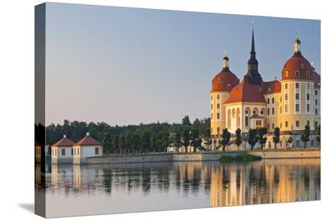 Germany, Dresden, Castle Moritz-Rainer Mirau-Stretched Canvas Print