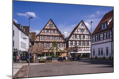 Germany, Baden-Wurttemberg, Metropolregion Stuttgart, Kirchheim Unter Teck, Marketplace-Udo Siebig-Mounted Photographic Print