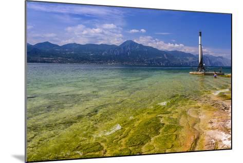 Italy, Veneto, Lake Garda, Torri Del Benaco, Lakeside Promenade-Udo Siebig-Mounted Photographic Print