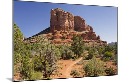 Courthouse Butte, Bell Rock Trail, Sedona, Arizona, Usa-Rainer Mirau-Mounted Photographic Print