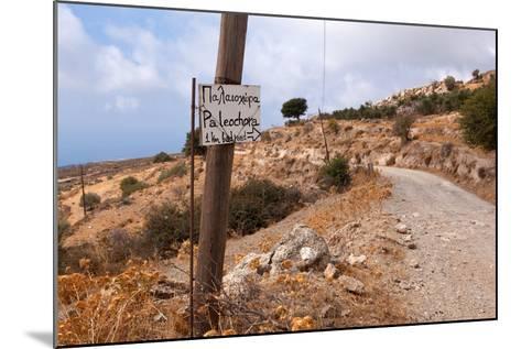 Greece, Crete, Omalos Plateau, Street to Paleochora-Catharina Lux-Mounted Photographic Print