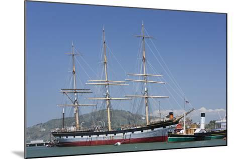 Sailing Ship T.S. Balclutha at Hyde Street Pier, San Francisco, California, Usa-Rainer Mirau-Mounted Photographic Print