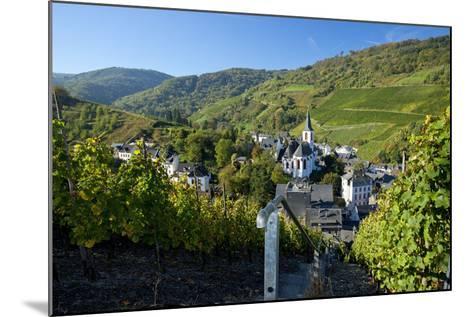 Germany, Rhineland-Palatinate, the Moselle, Traben-Trarbach, Catholic Parish Church St. Nicholas-Chris Seba-Mounted Photographic Print