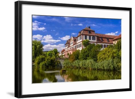 Germany, Bavaria, Lower Franconia, 'FrŠnkisches Saaletal' (Saale Valley), Hammelburg-Udo Siebig-Framed Art Print