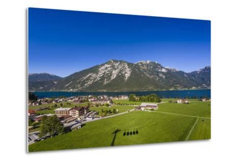Austria, Tyrol, Achensee Region, Karwendel Mountains, Pertisau (Village-Udo Siebig-Metal Print