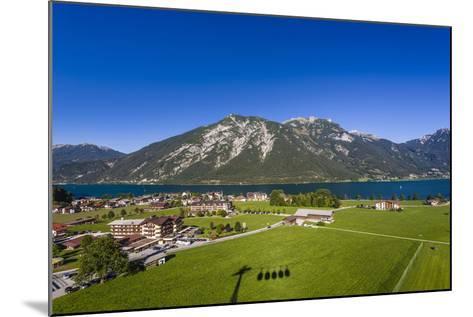 Austria, Tyrol, Achensee Region, Karwendel Mountains, Pertisau (Village-Udo Siebig-Mounted Photographic Print