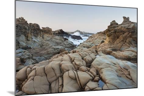 Sandstone, Salt Point State Park, Sonoma Coast, California, Usa-Rainer Mirau-Mounted Photographic Print