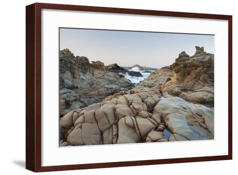 Sandstone, Salt Point State Park, Sonoma Coast, California, Usa-Rainer Mirau-Framed Art Print