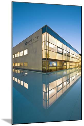 Austria, Thermal Bath, Roman Thermal Bath, Health Resort Centre-Rainer Mirau-Mounted Photographic Print