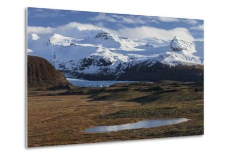 …raefajškull, Svinafellsjškull, Skaftafell, South Iceland, Iceland-Rainer Mirau-Metal Print