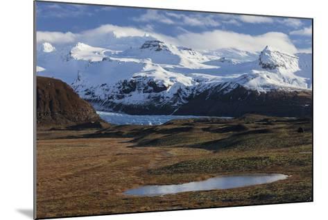 …raefajškull, Svinafellsjškull, Skaftafell, South Iceland, Iceland-Rainer Mirau-Mounted Photographic Print