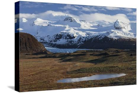 …raefajškull, Svinafellsjškull, Skaftafell, South Iceland, Iceland-Rainer Mirau-Stretched Canvas Print