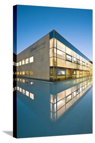 Austria, Thermal Bath, Roman Thermal Bath, Health Resort Centre-Rainer Mirau-Stretched Canvas Print