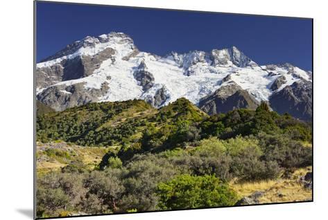 Mount Sefton, Mount Cook National Park, Canterbury, South Island, New Zealand-Rainer Mirau-Mounted Photographic Print