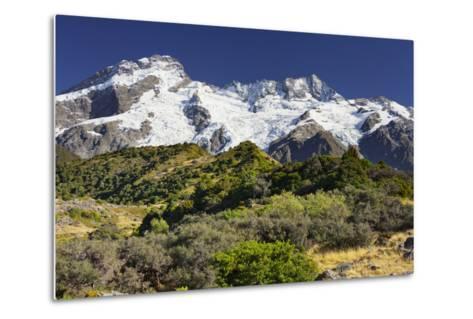 Mount Sefton, Mount Cook National Park, Canterbury, South Island, New Zealand-Rainer Mirau-Metal Print