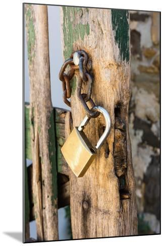 Gate, Padlock-Catharina Lux-Mounted Photographic Print