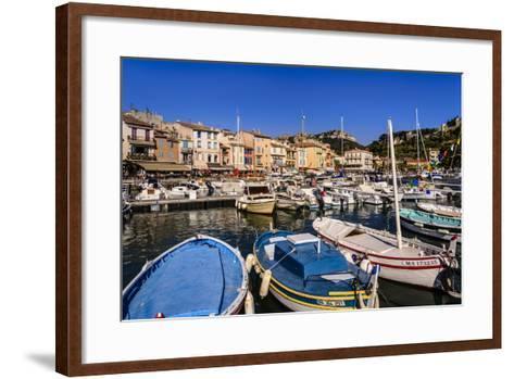 France, Provence, Bouches-Du-Rh™ne, Riviera, Cassis, Harbour-Udo Siebig-Framed Art Print