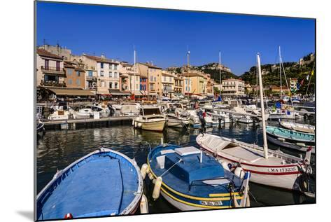 France, Provence, Bouches-Du-Rh™ne, Riviera, Cassis, Harbour-Udo Siebig-Mounted Photographic Print