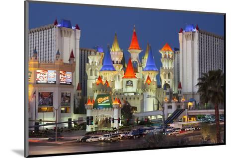 Excalibur Hotel, Strip, South Las Vegas Boulevard, Las Vegas, Nevada, Usa-Rainer Mirau-Mounted Photographic Print