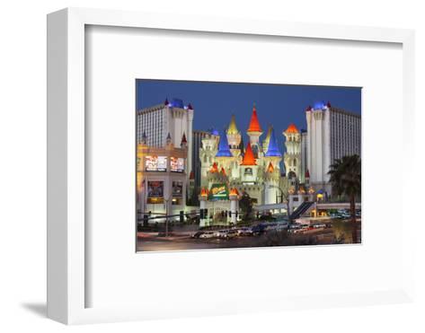 Excalibur Hotel, Strip, South Las Vegas Boulevard, Las Vegas, Nevada, Usa-Rainer Mirau-Framed Art Print