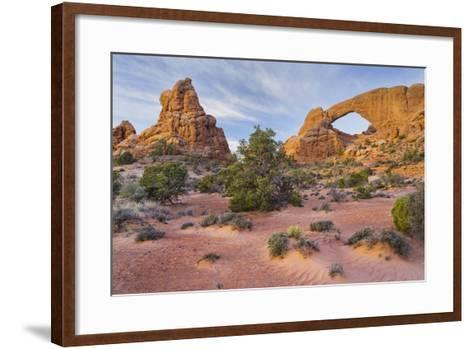 South Window, the Windows Section, Arches National Park, Utah, Usa-Rainer Mirau-Framed Art Print