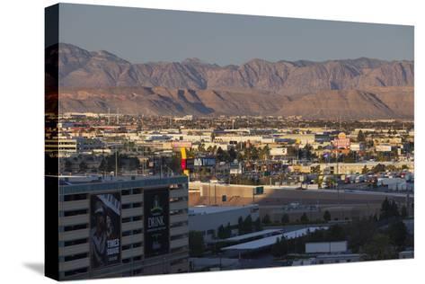 Spring Mountains, Red Rock Canyon, Las Vegas Metropolitan Area, Nevada, Usa-Rainer Mirau-Stretched Canvas Print