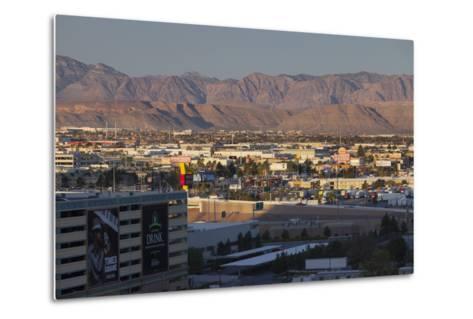 Spring Mountains, Red Rock Canyon, Las Vegas Metropolitan Area, Nevada, Usa-Rainer Mirau-Metal Print