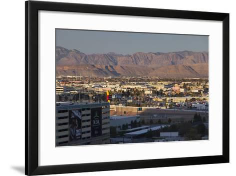 Spring Mountains, Red Rock Canyon, Las Vegas Metropolitan Area, Nevada, Usa-Rainer Mirau-Framed Art Print