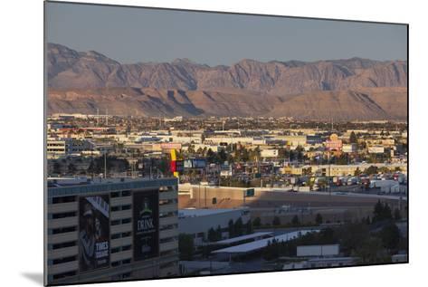 Spring Mountains, Red Rock Canyon, Las Vegas Metropolitan Area, Nevada, Usa-Rainer Mirau-Mounted Photographic Print