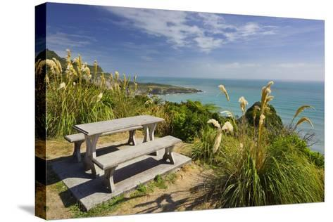 Paparoa Coast, Bank, West Coast, South Island, New Zealand-Rainer Mirau-Stretched Canvas Print