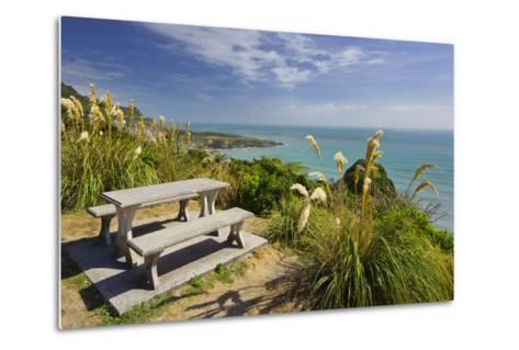 Paparoa Coast, Bank, West Coast, South Island, New Zealand-Rainer Mirau-Metal Print