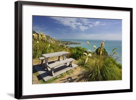 Paparoa Coast, Bank, West Coast, South Island, New Zealand-Rainer Mirau-Framed Art Print